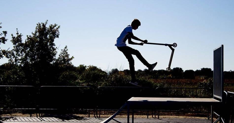 Skate Park@Ibaselle et ses photos