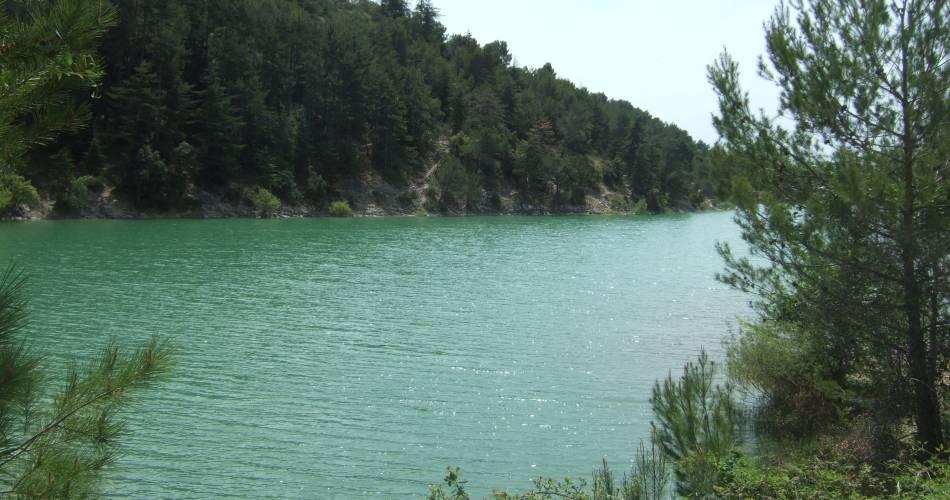 Sentier découverte autour du Lac et des collines du Paty@Conseil départemental de Vaucluse