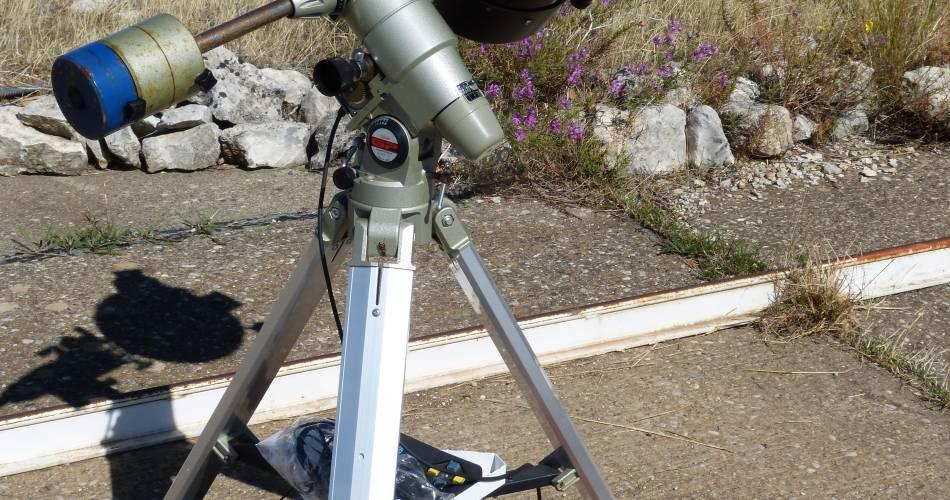 ** Annulé ** Visite de jour et observation du soleil@OTI Pays d'Apt Luberon