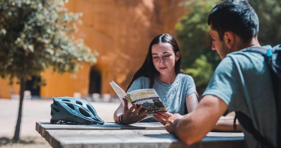 Les Ocres à vélo@Vélo Loisir Provence