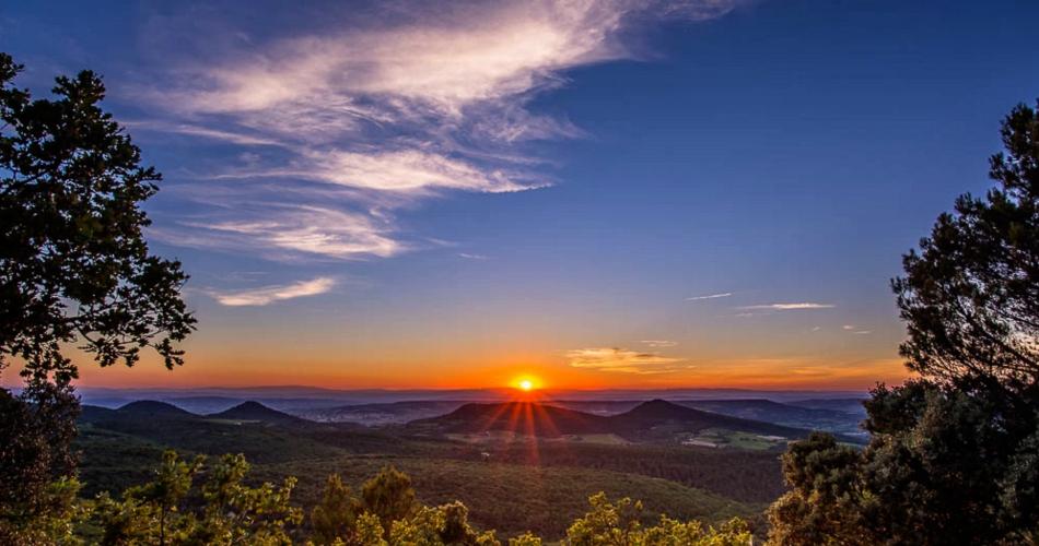 Rando coucher de soleil au Mont Ventoux - AVentoux'Rando@L. Pamato