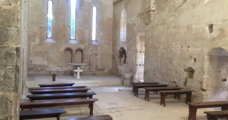Abbaye Saint Hilaire@Office de tourisme Pays d'Apt Luberon