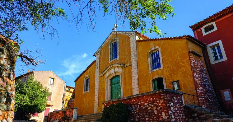 Roussillon@© Office de Tourisme Pays d'Apt Luberon