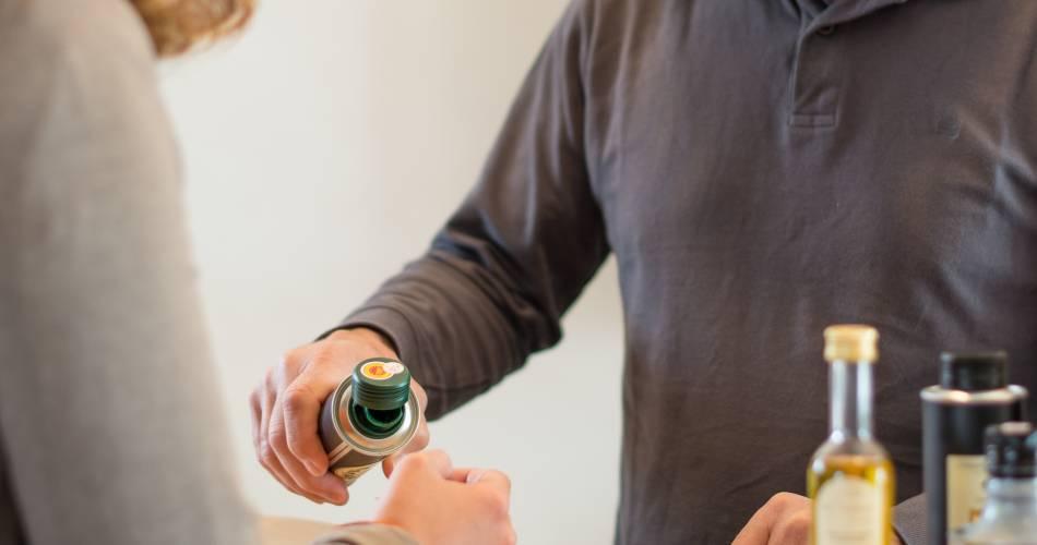 Dégustation commentée d'huiles d'olive aux